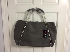 Gray Nico Handbag
