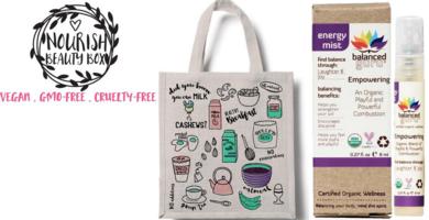 Nourish Beauty Box Eco-Friendly Canvas Tote - Sept 2015