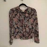 In Clover floral blouse from The Golden Tote