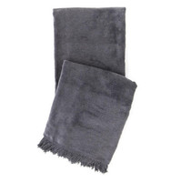 Windsor  Fleece Throw by Pine Cone Hill - Graphite