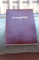 "Sloane Stationery ""It's Everything"" notebook"