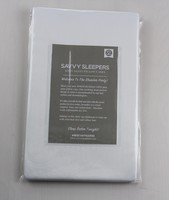 Savvy Sleepers 100% Satin Pillow Case (Standard) – Value $36