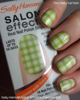 Sally Hansen Salon Effects Polish Strips in Checker Out