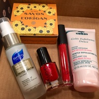 Entire October Glossybox Contents (no box!) RV$65.90