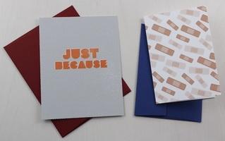 Bandaid Folded Card