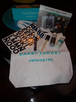 Darby Smart Entire September box-Chalkboard Tote kit