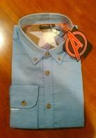 Blue Button Down Avengers Shirt