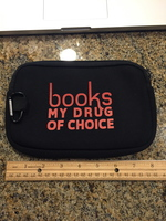 Books, My Drug of Choice E-Reader Sleeve