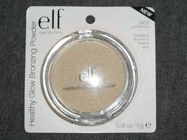 elf healthy glow bronzer - luminance (2403)