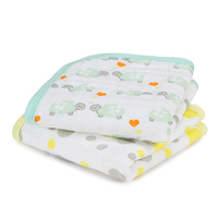 Aden + Anais Washcloth- Love Turtles (Set of 2)