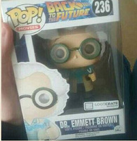 Loot Crate Exclusive Funko Pop - Dr. Emmett Brown