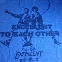 Loot Crate Exclusive Bill and Ted's Excellent Adventure T Shirt