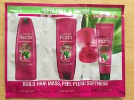 Fructis Full&Plush shampoo+conditioner+treatment