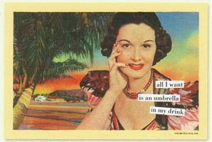 Anne Taintor Magnetic Postcard