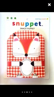 Snuppet snack puppet