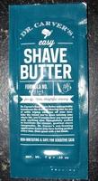 Shave Butter-Dr. Carver's