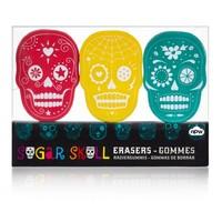 Sugar Skull Erasers