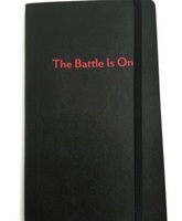 "Poppin ""The Battle is On"" Notebook"