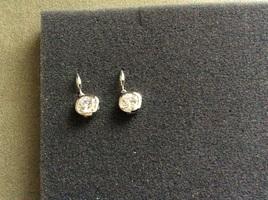Amy drop earrings silver