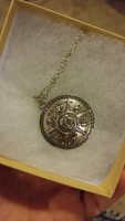 Percy Jackson Shield of Athena necklace