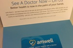 Amwell Free Doctor Visit Gift Card