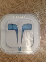 Mixbin earbuds with headphone