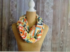 Nora Gray kaleidoscope infinity scarf
