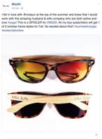 Vira Sun Yogi Sunglasses Bianca Jade Quarterly Box