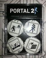 Portal 2 Four Magnet Set in Plastic Case