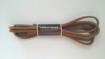Line of the Trade Leather Shoe Laces