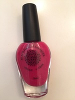 Black Dahlia Lacquer in Red Spike Cactus