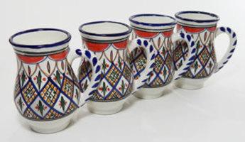 Le Souk Ceramique Large Mug Tabarka Design