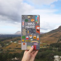 Chronicle Books I Was Here Journal