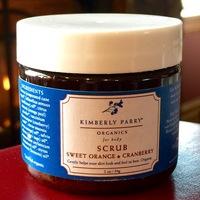 KIMBERLY PARRY ORGANICS Sweet  Orange and Cranberry Scrub