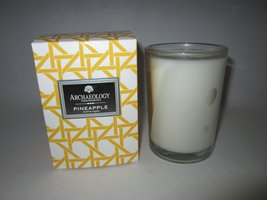 Archaeology Pineapple Candle