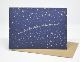 Million Birthday Wishes Birthday Card