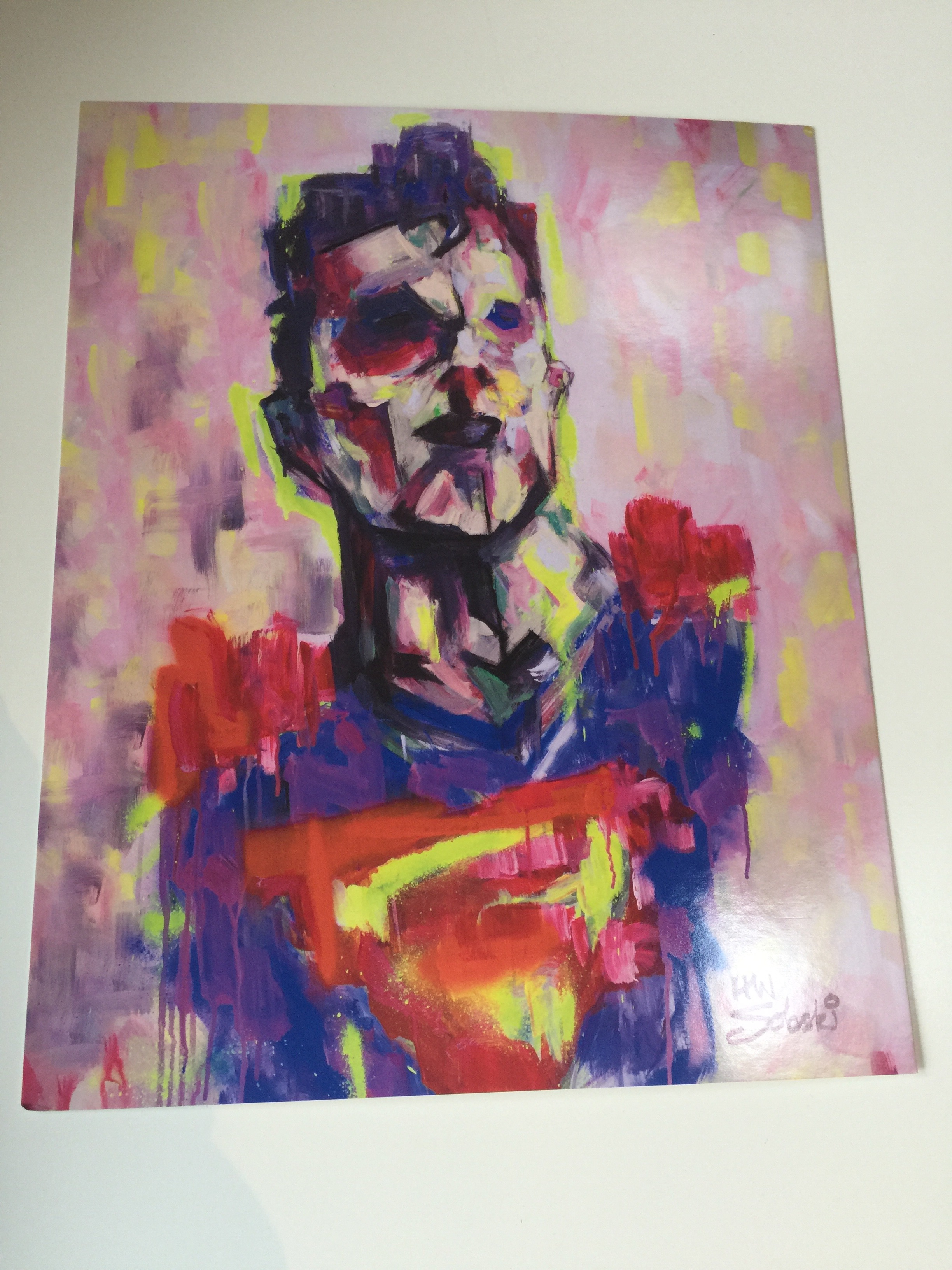 8X10 Han Soloski Superman 'Lone Survivor' print