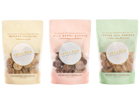 Gourmet Dessert Dog Treats from Leela Ryan