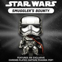 Exclusive Chrome-Plated Star Wars Captain Phasma Funko POP