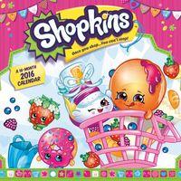 Shopkins 2016 Mini Wall Calendar