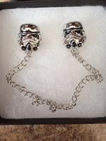 Star Wars Stormtrooper Lapel Pins & Chains