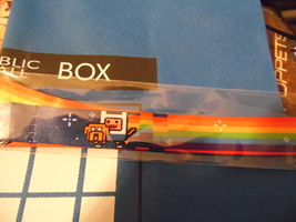nyan dog infinity lanyard/ super geek box exclusive