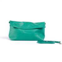 RIPAUSTE by Paul Stéphan Large Clutch - Green