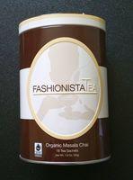 FashionistaTea Organic Masala Chai Tea
