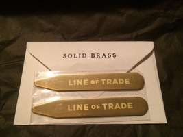 Line of Trade Brass collar stays
