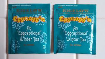 """Bigelow Eggnogg'n An """"Eggceptional"""" Winter Tea"""