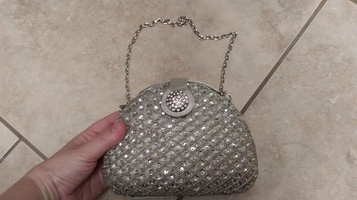 Gorgeous sparkly Expressions NYC purse