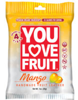 You Love Fruit Mango Fruit Leather