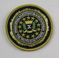 Paranormal Investigation X Files Patch