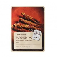 Tony Moly Pureness 100 Red Ginseng Mask Sheet Shine